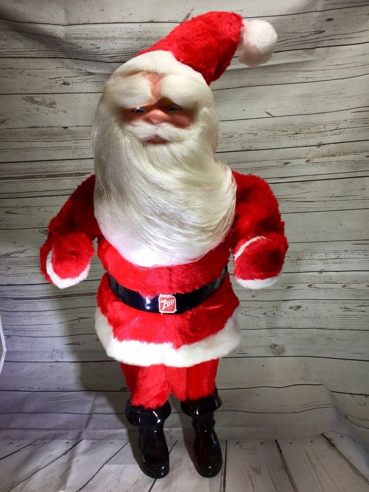 vinrage 7 up store advertising harold gale santa 30 in tall red logo belt