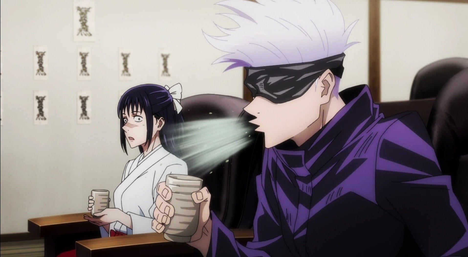 Gojo Satoru In 2021 Jujutsu Anime Funny Anime Pics