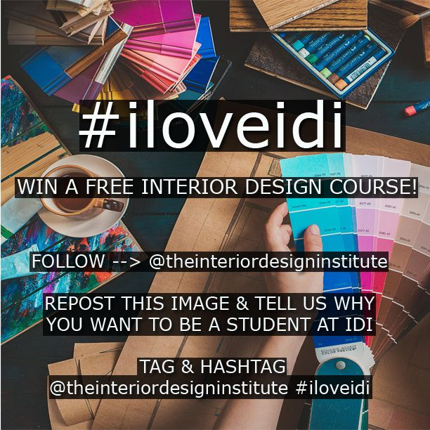 Want To Win A FREE Interior Design Course Check Out Our Latest Competition Over On Instagram Page Theinteriordesigninstitute