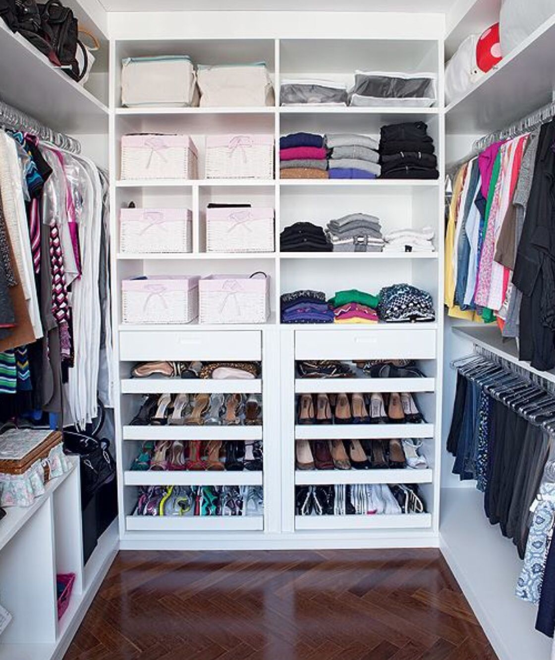 Marvelous Master Closet Organization Ideas Part - 14: Master Closet · Closet IdeasMadeira CumaruOrganization ...