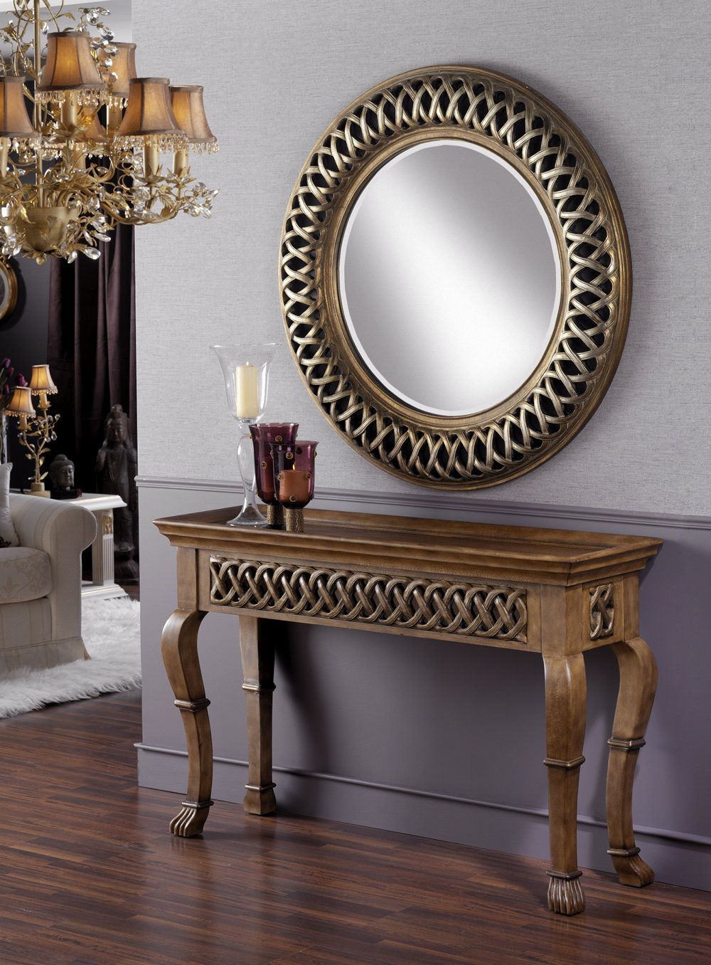 Espejos cl sicos decorativos marcos for Espejos para consolas