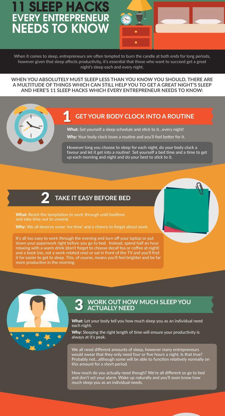 sleephacksforentrepreneurs v1 Sleeping hacks