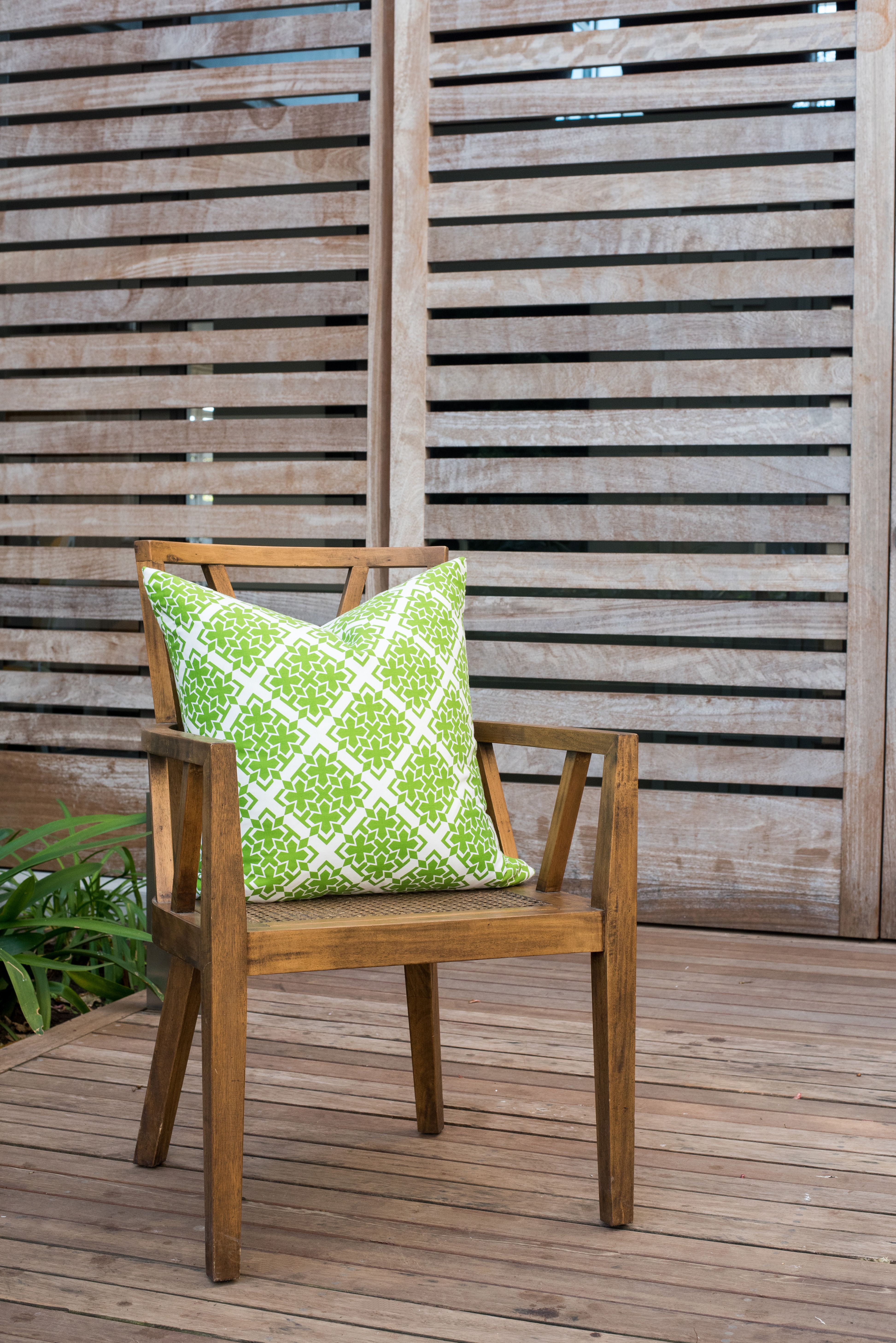Green morocco cm x cm scatter cushion by phlo studio from r