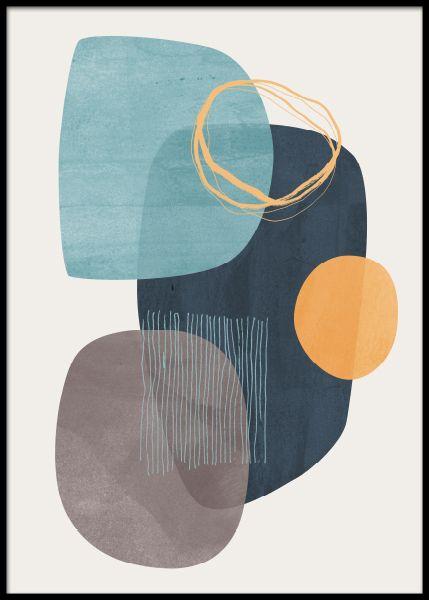 Cyra Poster in der Gruppe Poster / Kunstdrucke / Abstrakte Kunst bei Desenio AB (11091) #graphicdesign