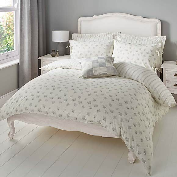 Mia Grey Reversible Duvet Cover And Pillowcase Set Dunelm Reversible Duvet Covers Matching Bedding And Curtains Duvet Covers