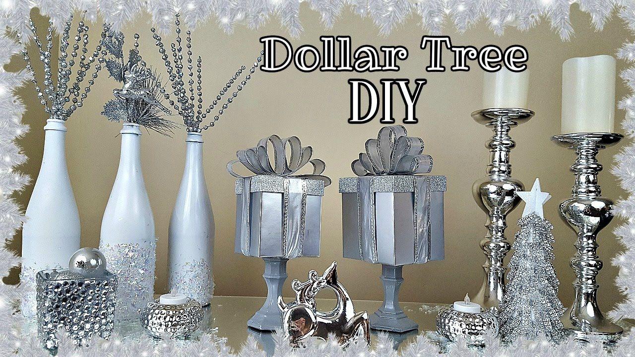 Diy dollar tree gift box christmas home decor craft