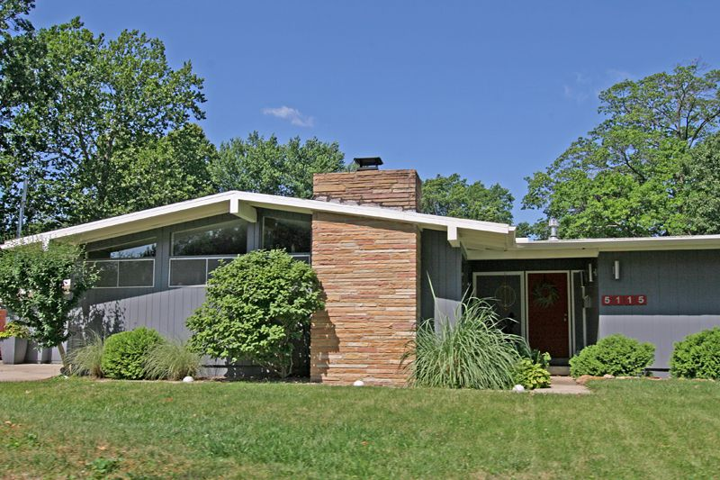 house mid century modern ranch