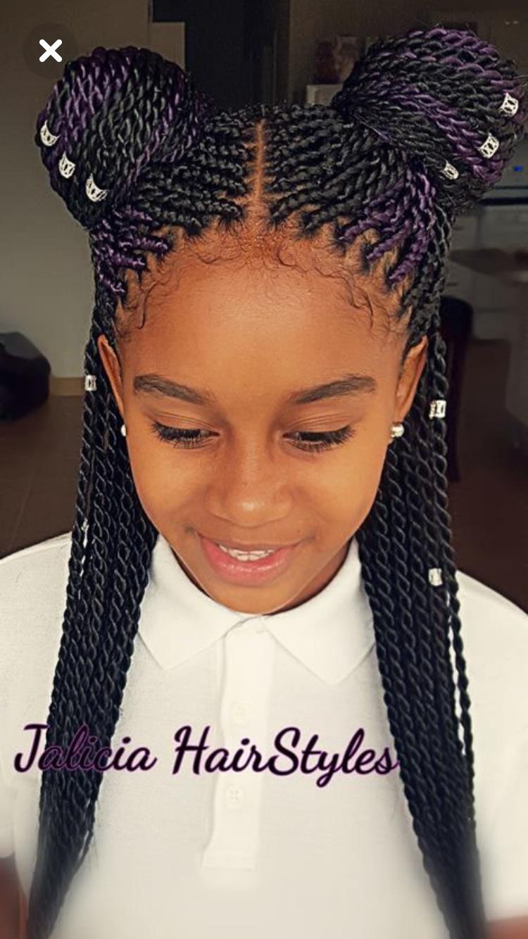 Her Hair He So Cute African Hairstyles For Kids Hair Styles Kids Braided Hairstyles