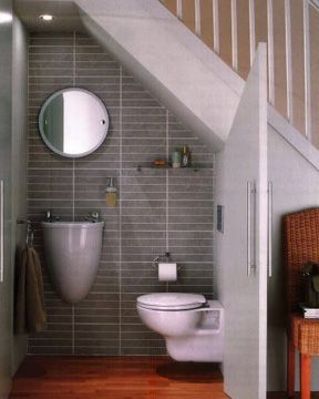 Get inspired to remake your small bathroom with these - Tiny half bathroom ideas ...