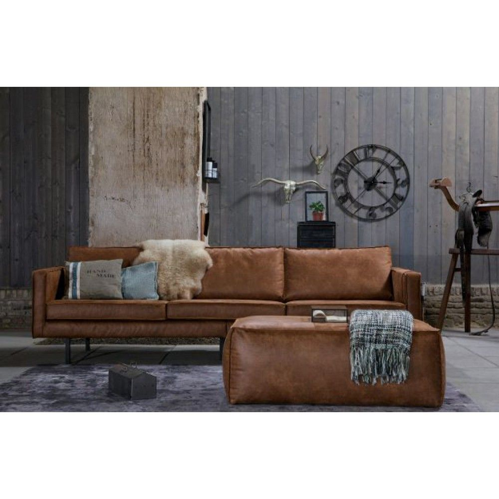 Kleine Leren Bank.Be Pure Rodeo Bank 3 Zits Cognac Home Bank Rodeo Bank Cognac