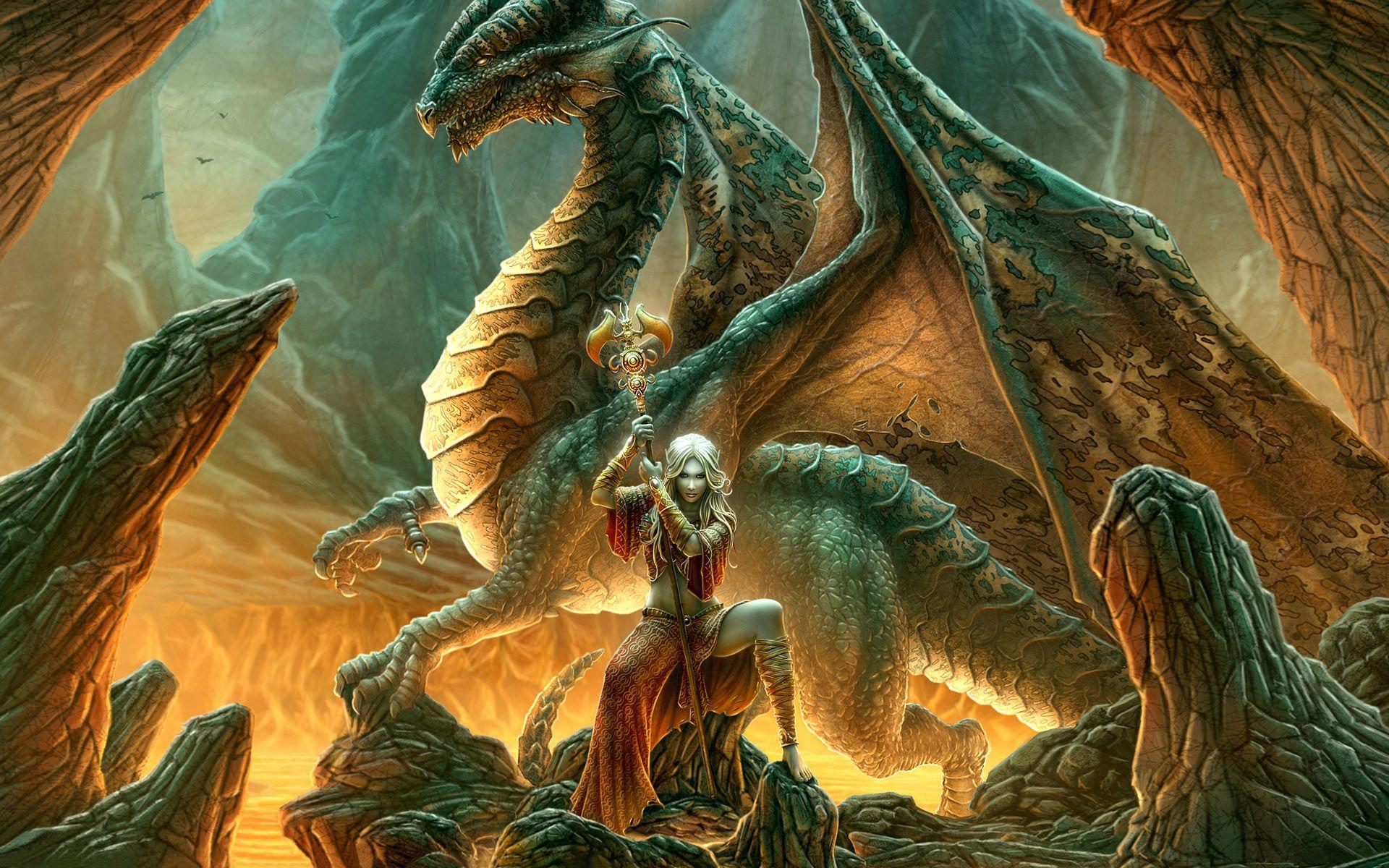 Fantasy Dragons And Women Fantasy Desktop Backgrounds Dragon Wallpaper Dragon With Girl Fantasy Dragon Dragon Artwork Dragon Pictures