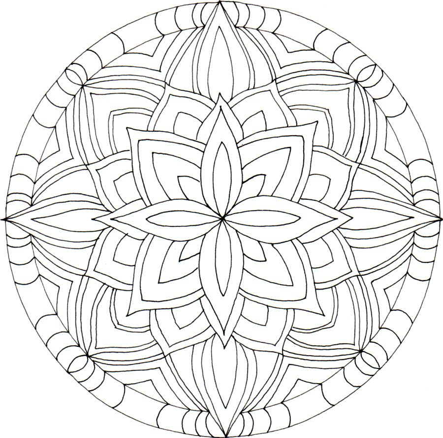Mandala Kleurplaten Boek.Mandala Kleurplaten Mandala Kleurplaten Kleurplaten En