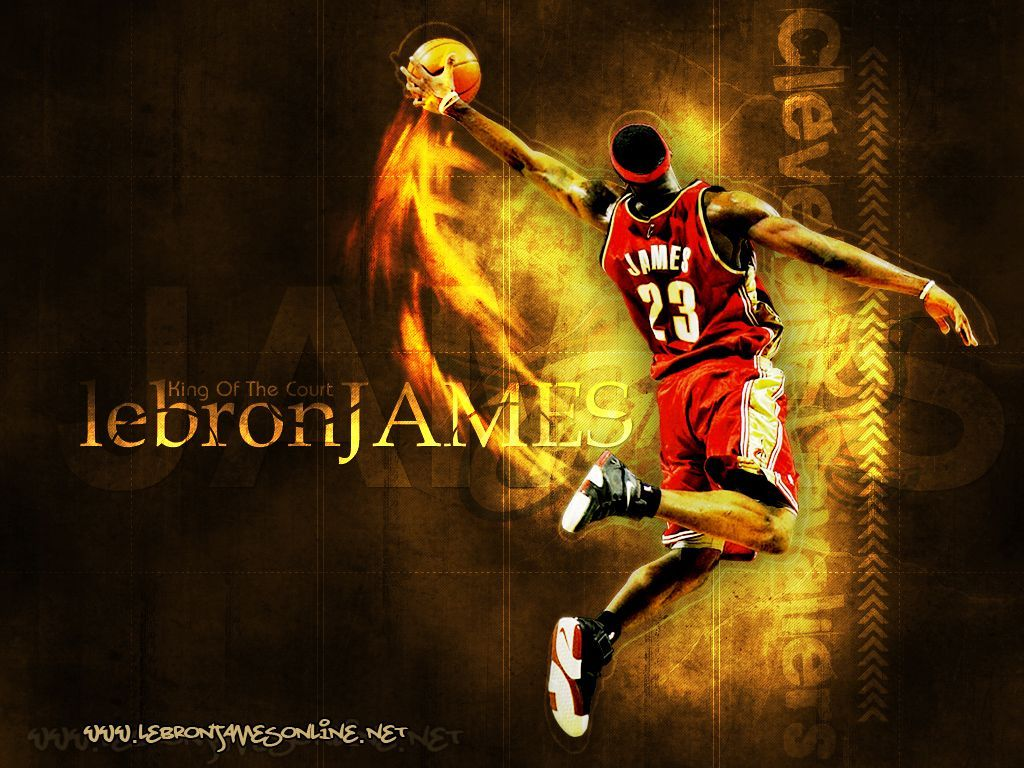 LeBron James Wallpaper Dunk