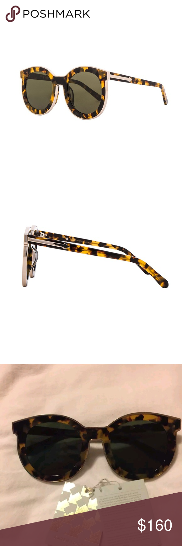 dae165964e8 Gold · Karen walker super spaceship sunglasses ...