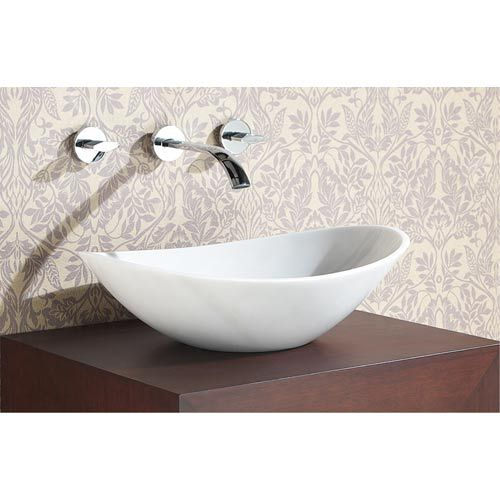 Avanity Stone Vessel Sink Oval White Marble Sve470wt Stone Vessel Sinks White Vessel Sink White Marble Sink
