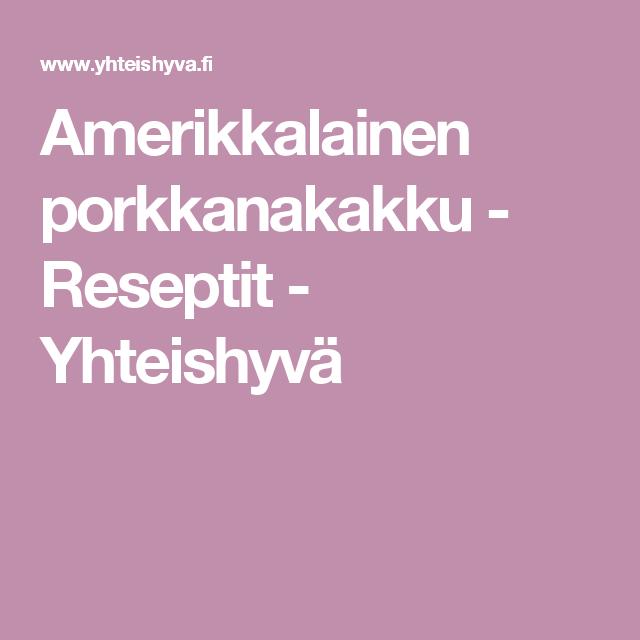 Amerikkalainen porkkanakakku - Reseptit - Yhteishyvä