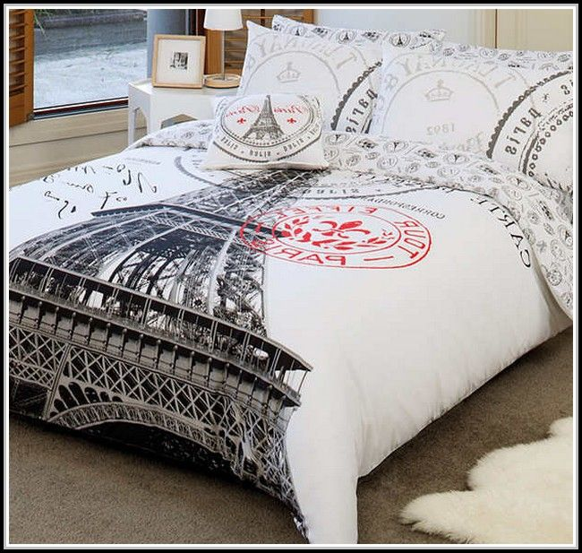 paris comforter set twin xl - bedspreads and comforters : bed