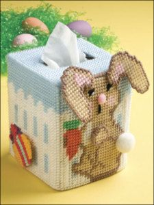 Plastic Canvas Patterns | Easter Plastic Canvas Patterns Tissue Cover Bunny Cross | eBay