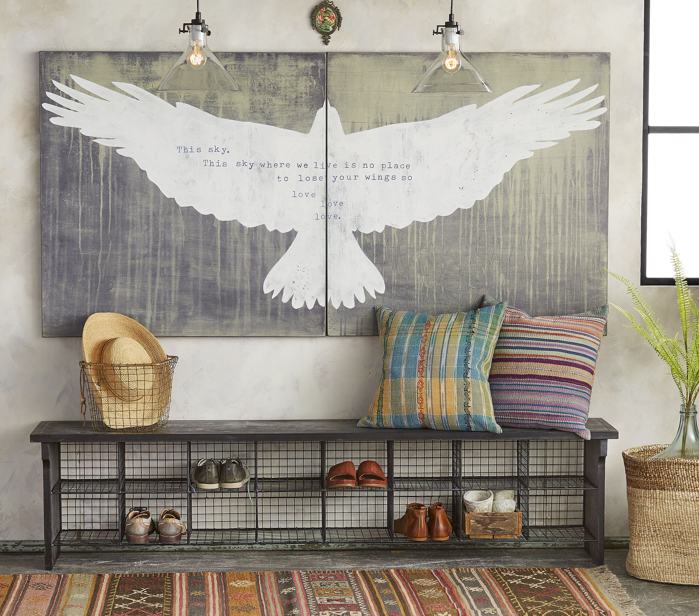 living room art prints%0A This Sky Print  An inspiring quote by Sufi poet Hafiz  printed on luan  plywood