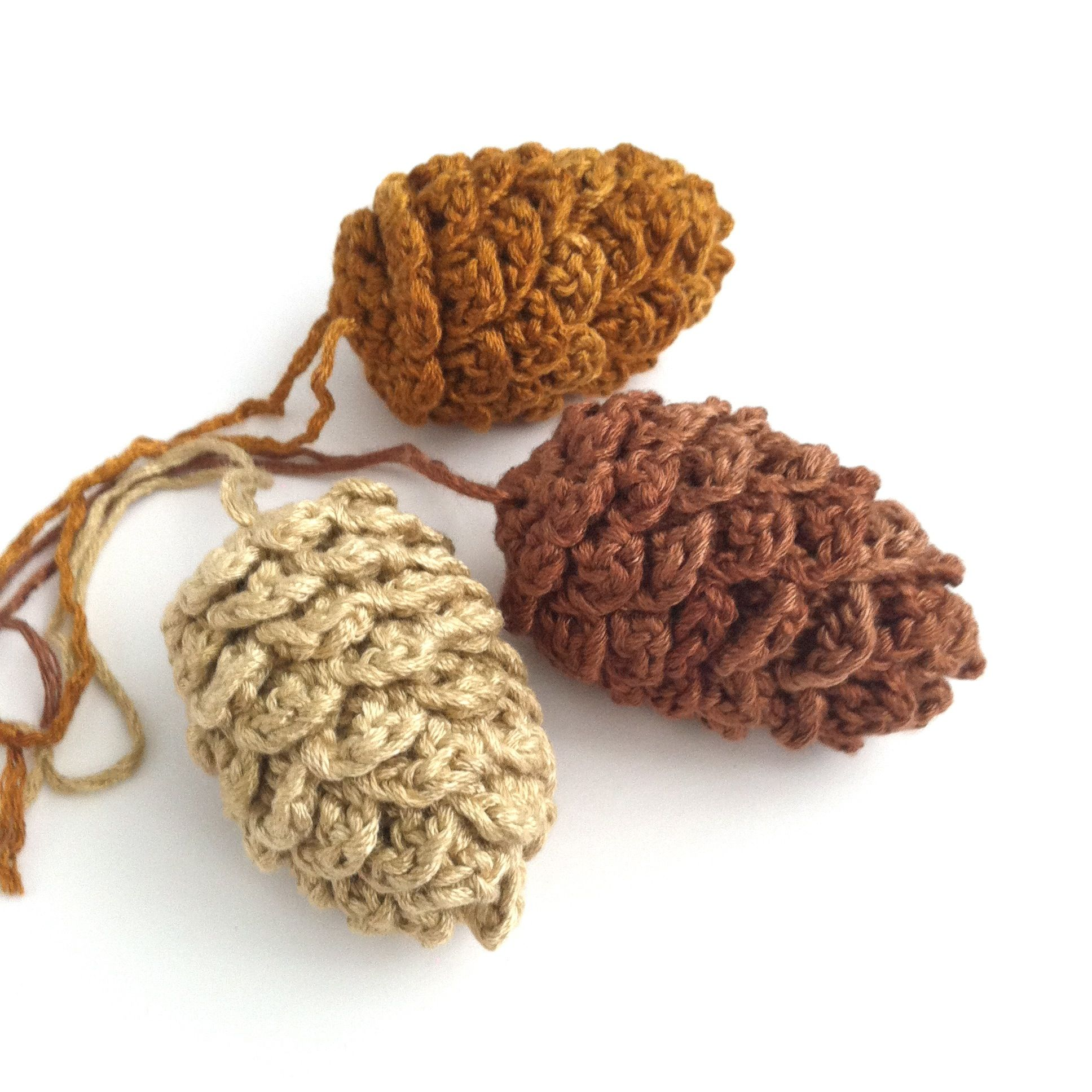 Image result for pine cone patterns | Craft - Crochet & knitting ...