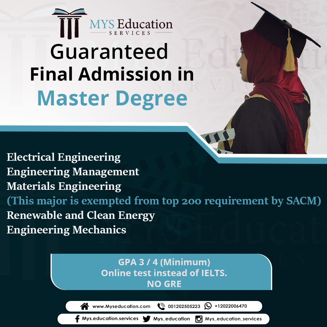 Final Admission Masters Electrical Engineering Engineering Management Materials Engineering This Ma Engineering Management Materials Engineering Online Tests