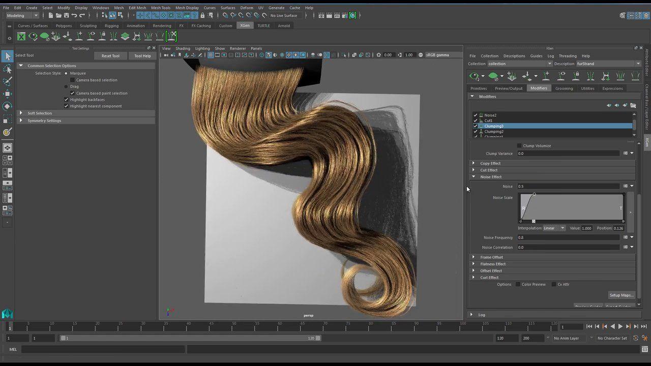 Animation · Xgen Hair Tutorial