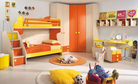 Happy and colorful kids rooms design ideas my desired home - Childrens Bedroom Ideas