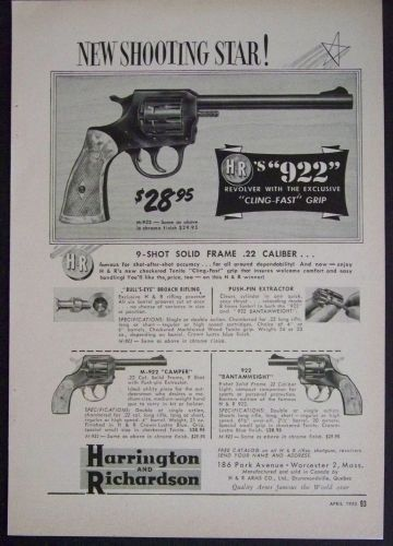 Image result for harrington and richardson 32 revolver advert