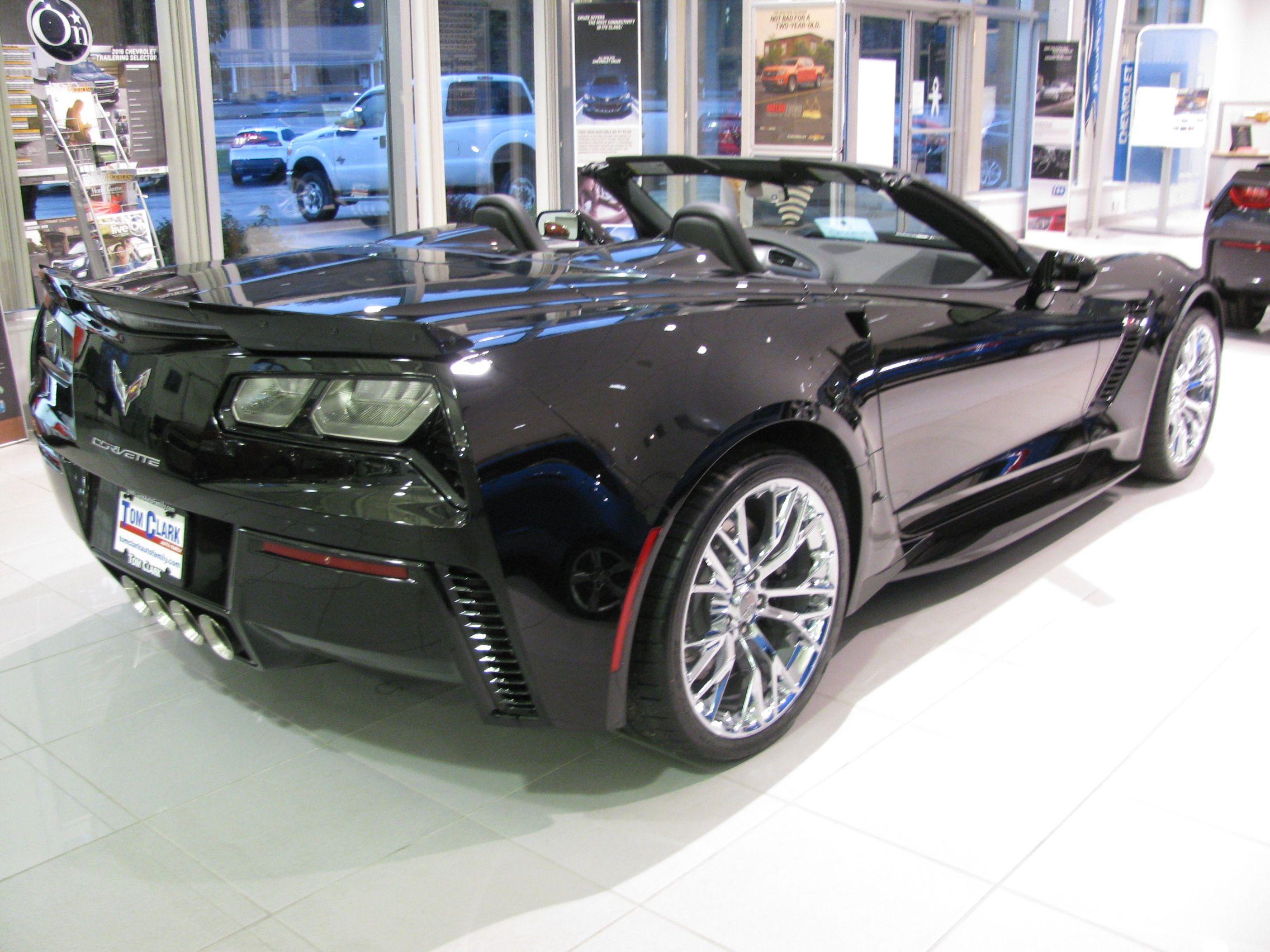 5 Year 60 000 Powertrain Limited Warranty Chevy Corvette Sports Car Convertible