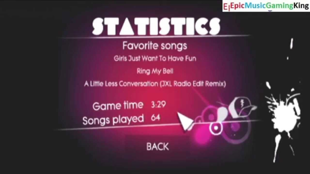 Tutorial For How To View The General Game Statistics In Just Dance This Video Features The Tutorial For How To View The General G Just Dance Song Play Tutorial