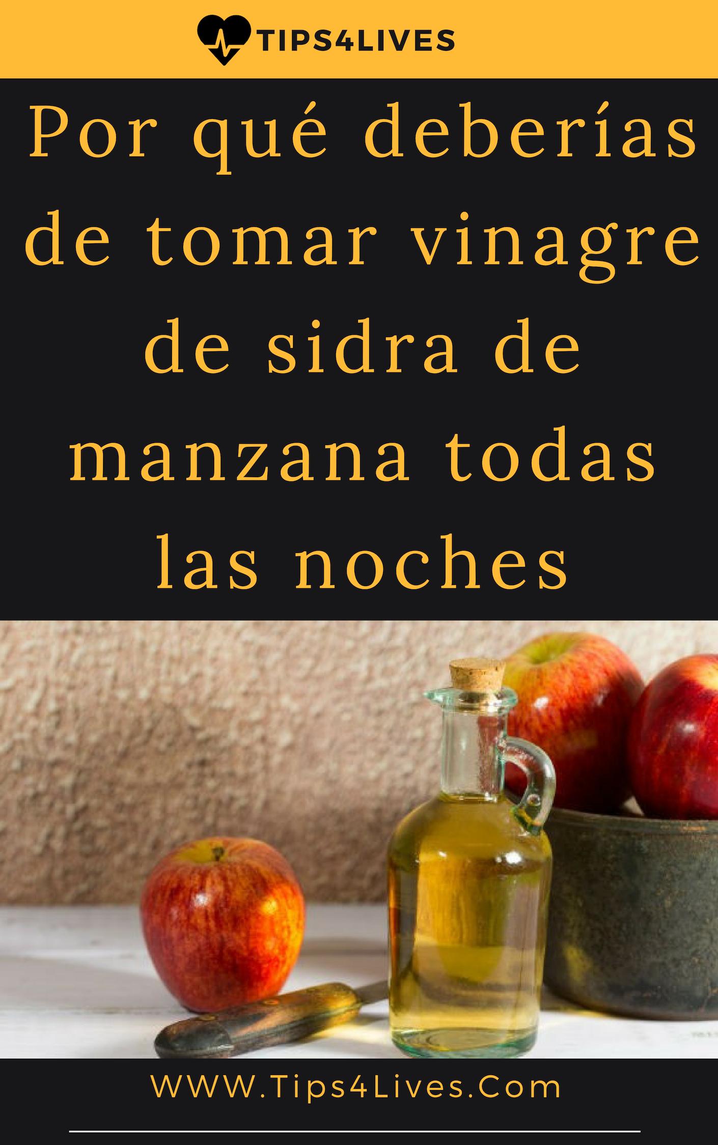 Como tomar la sidra de manzana para adelgazar