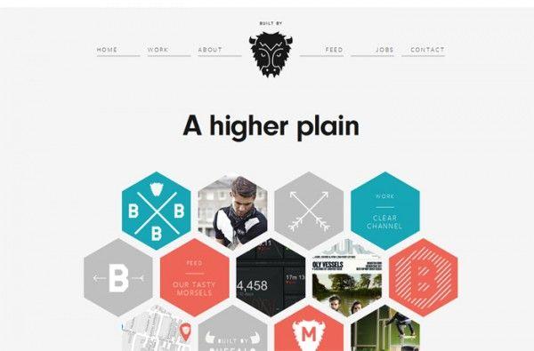 50 Inspiring Websites Using Geometric Shapes Web Design Examples Flat Web Design Web Design Awards
