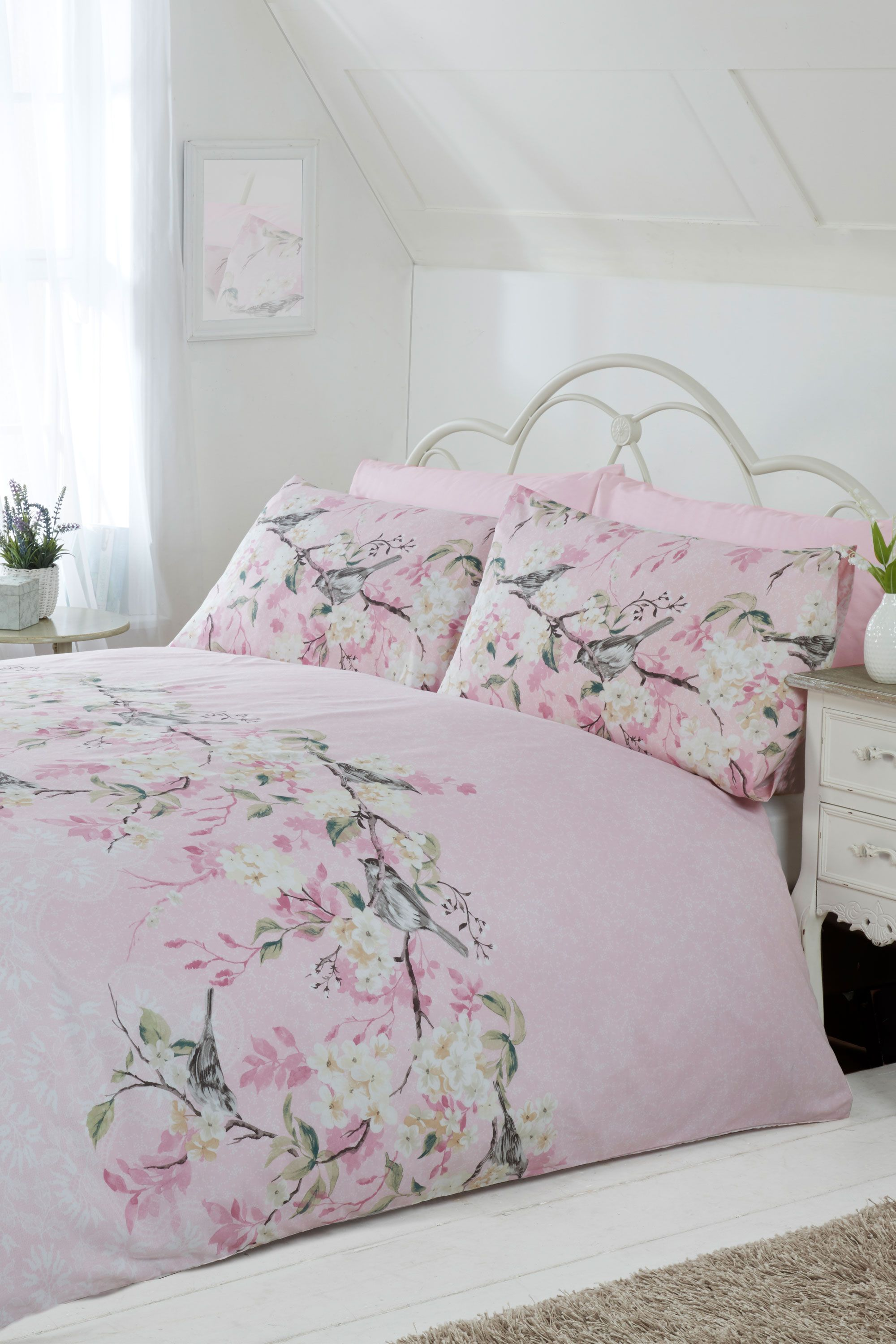 designs carousel pink covers duvet large floral cover watercolor