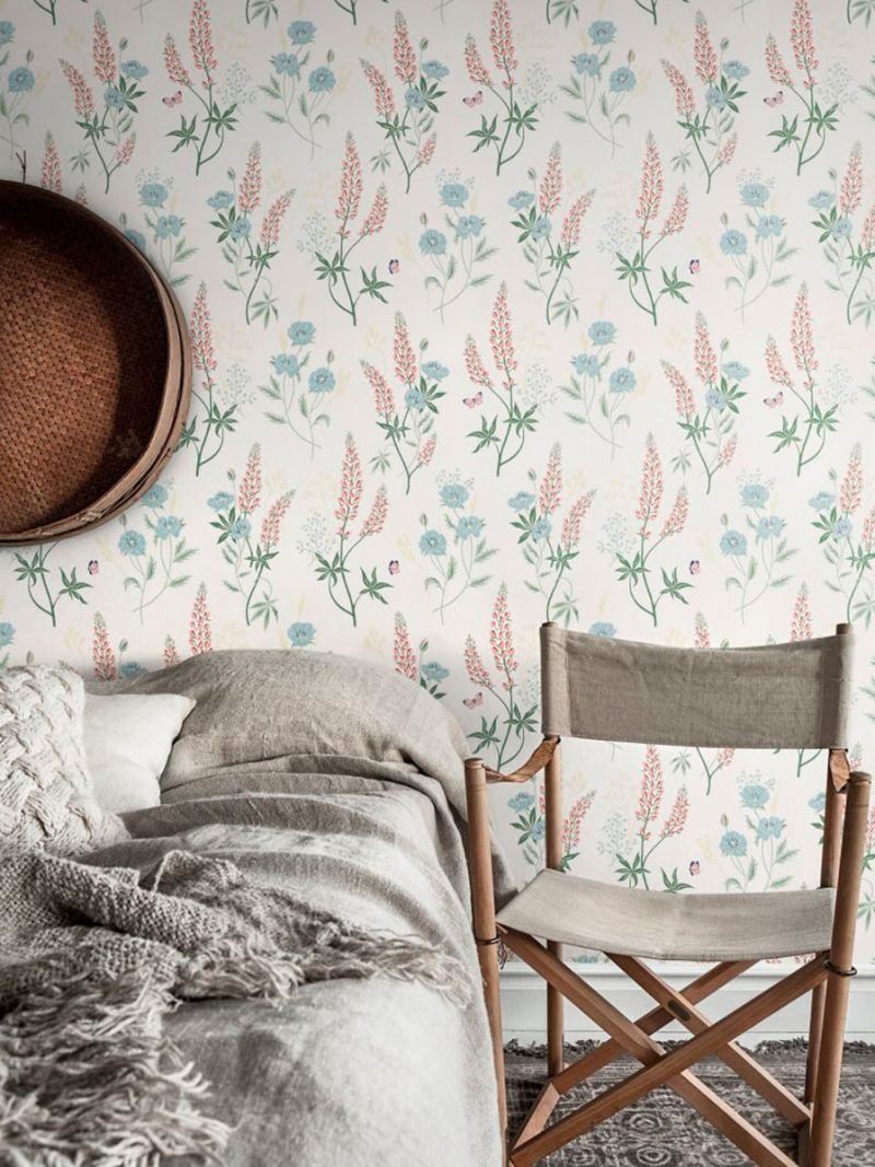 Emma Pastel Sandberg Wallpaper in 2020 Large floral