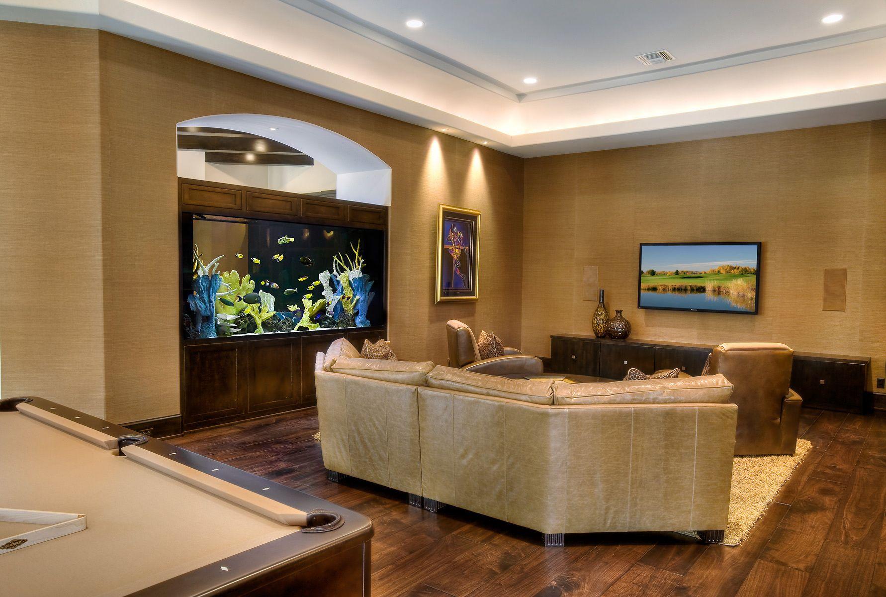 Aquarium Design Group A Decorative Saltwater Room Divider