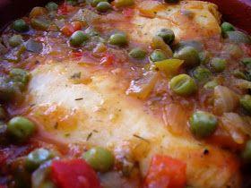Ingredientes Para Dos Personas 4 Lomos De Merluza A Saciedad 3 Puntos 1cd 2 Ct De Aceite De Oliva 4 Puntos Recetas Para Cocinar Guisantes Congelados Merluza