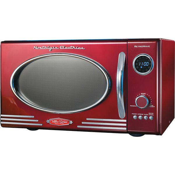 Nostalgia Electrics Retro Series Microwave Meijer Com Black