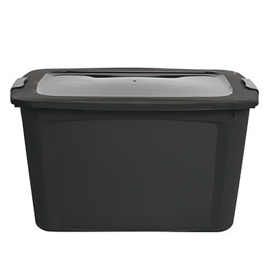 Bella® 20 Gallon Black Locking Lid Storage Tote At Big Lots. $6 This  Strong, Durable Storage Tote Is Perfect For Storing Away Clothes,  Decorations And More!