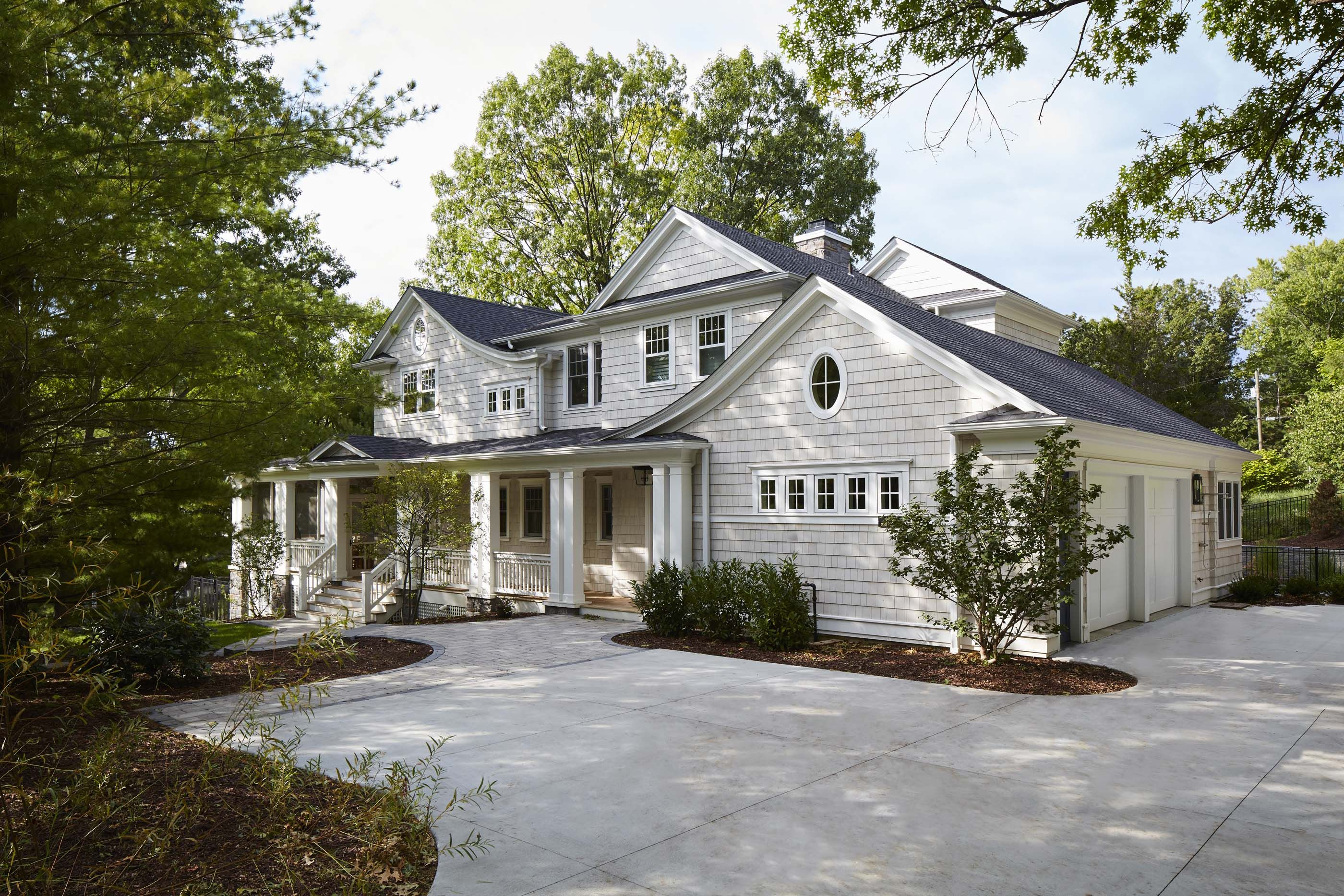 Lakeside Vacation Home Shingle Style Architecture