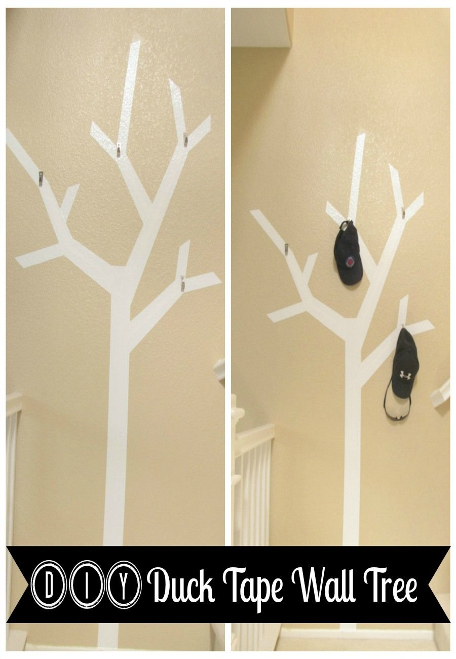 Diy duck tape wall tree tape wall duck tape and walls