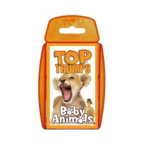 Shopkins Top Trumps Collectors Tin Card Game Top Trumps Animal Cards Baby Animals