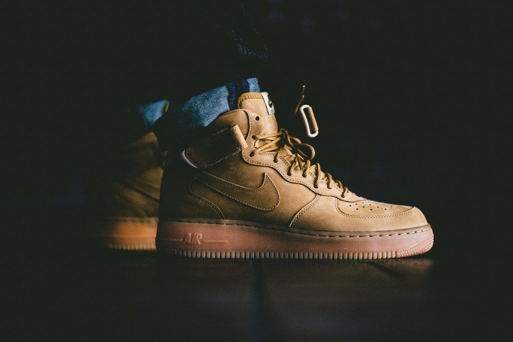 competitive price 7df9c 61768 Nike Air Force 1 Mid NSW - Flax Collection