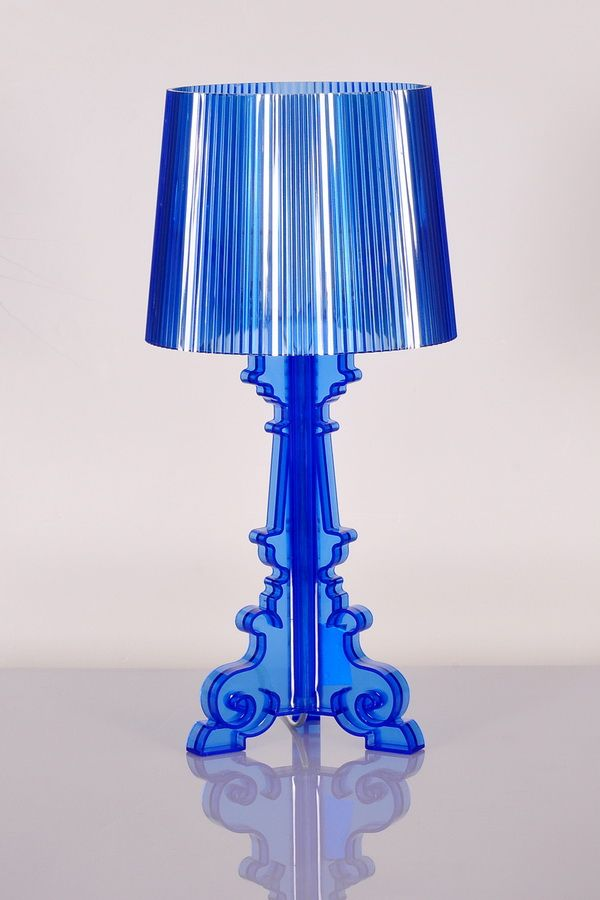 Kartell Bourgie Table Lamp Color:Black,Clear Black,Blue,Red,Clear