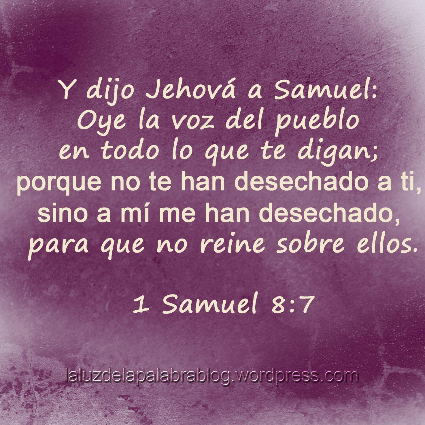 Resultado de imagen de 1 SAMUEL 8