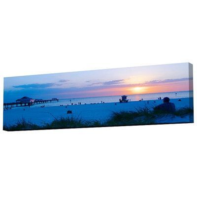 Menaul Fine Art Clearwater Beach Limited Edition by Scott J. Menaul Photographic Print on Wrapped Canvas Size: