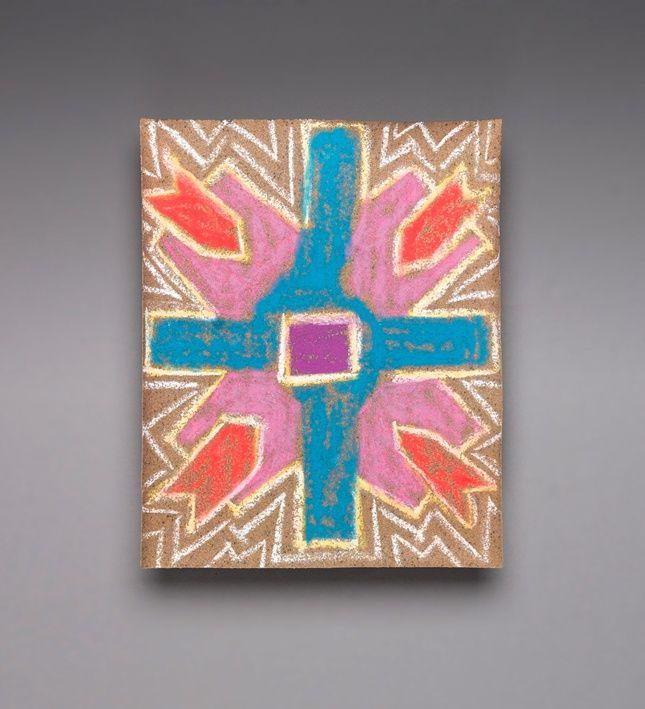 Use Colored Chalk On Sandpaper To Make Authentic Rangoli Designs