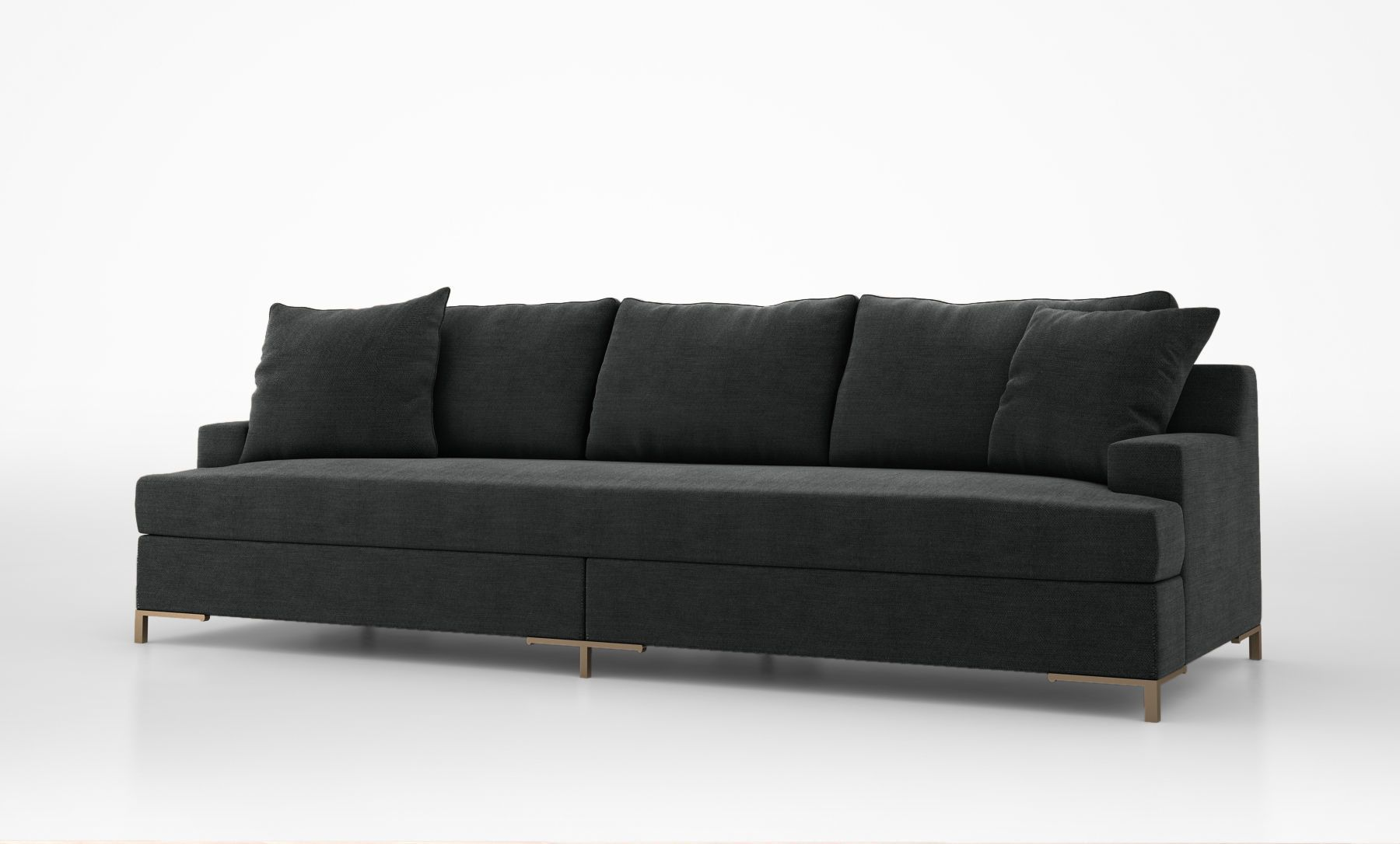 christian liaigre don juan sofa 3d model max obj 1800—1086