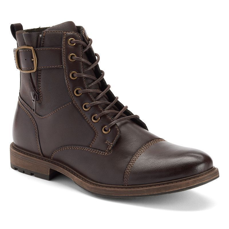 apt 9 Mens Ankle Boots Steele Brown Man