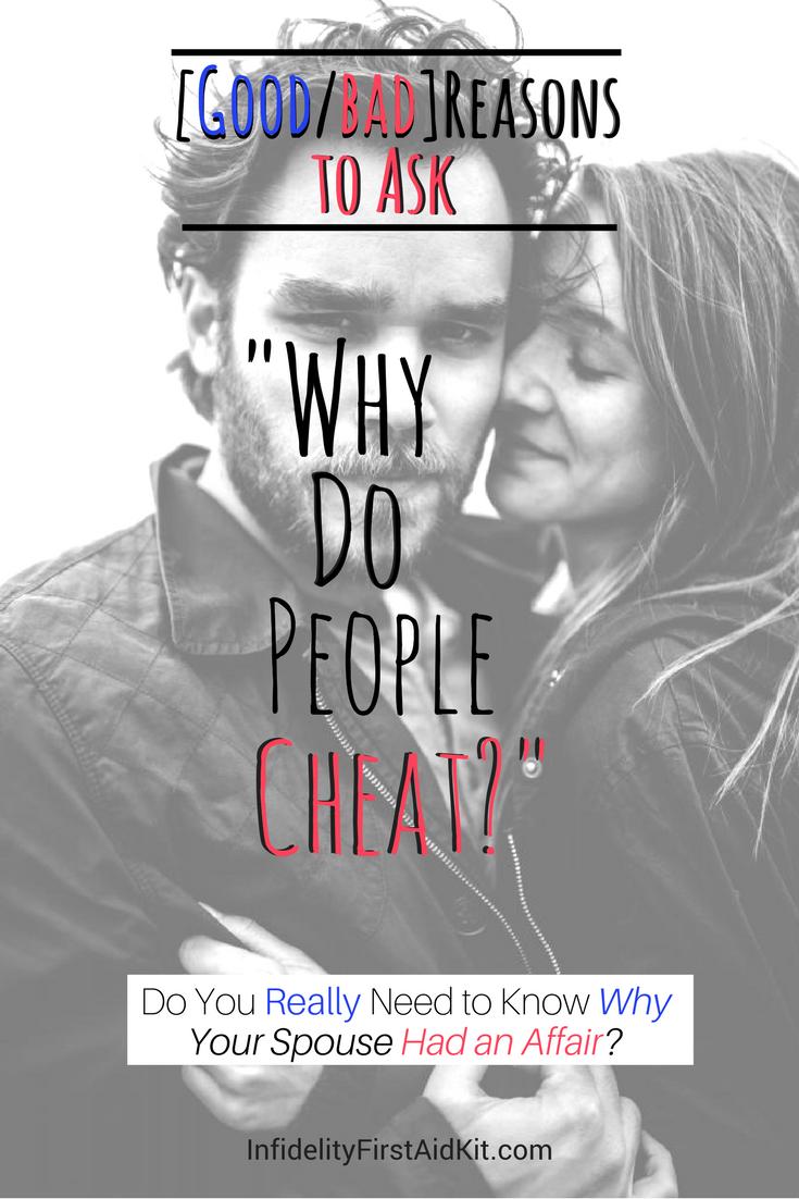 top reasons people cheat