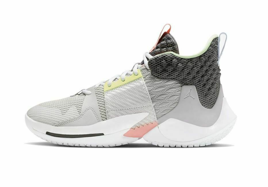 Ebay Sponsored Nike Air Jordan Why Not Zer0 2 Pf Vast Grey